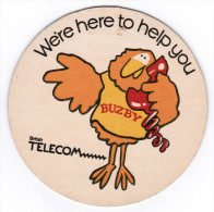 SOUS-BOCK WERE HERE TO HELP YOU BUZBY BRITISH TELECOM WERE HERE TO HELP YOU BUZBY BRITISH TELECOM - Sous-bocks