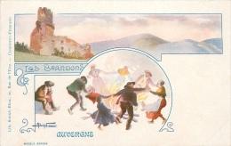 CPA Auvergne-Les Brandons    L1999 - Auvergne