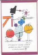 Pourquoi Faire Simple Quand On Peut Faire Compliqué ?! (Rouxel ) - Künstlerkarten