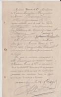 MESSIEURS TERROT ET CIE A DIJON : DOCUMENT DE CONCESSION DE VENTE  1908 - Transport