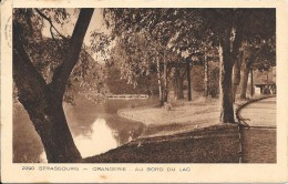 STRASBOURG - 67  -  ORANGERIE - Au Bord Du Lac - 025 - - Strasbourg