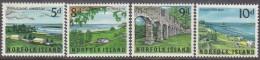 NORFOLK Is, 1964 VIEWS 4 MH - Norfolk Eiland