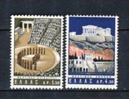 Grecia 1965. Yvert 853-54 ** MNH. - Greece