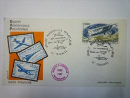 Société Aérospatiale Philatélique : Enveloppe Du 25è Anniversaire  3 Déc 1977    - 1961-....