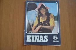 Lithuania Litauen USSR Period  Cinema Moves 1976 Nr. 5 - Livres, BD, Revues