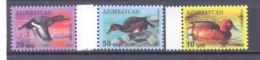 2012. Azerbaijan, Birds, Ferruginous Duck, 3v,  Mint/** - Azerbaïjan