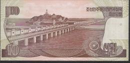 KOREA NORTH P41a   10 WON 1998   UNC. - Corée Du Nord
