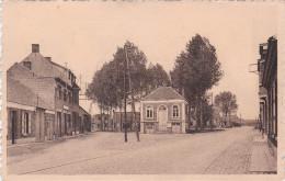 Zoersel Gemeentehuis Postzegel Stempel Antwerpen Gekarteld - Zoersel