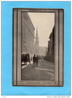 BOSTON -washington Street -Charette Et Passants- Animée -in 1915-editor  Arts And Crafts - Boston