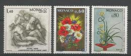 TP DE MONACO N° 1034 +  1035/36 NEUFS SANS CHARNIERE - Mónaco