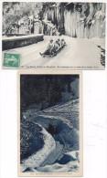 Les Sports D' Hiver - 2 CPA - Course De Bobsleigh - En Bobsleigh.  (84016) - France