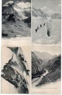 Pelvoux - La Meije - 4 CPA - Violent Orage, Pont D' Auris, Barre Des Ecrins, ..  (84019) - France