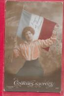 Couleurs Sacrées 1914-1918-cpa écrite - Patriottisch
