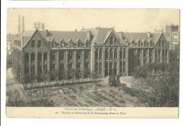Université Catholique - Lille - Faculté De Médecine Et De Pharmacie , Rue Du Port - Lille
