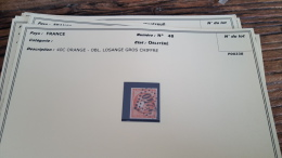 LOT 296037 TIMBRE DE FRANCE OBLITERE N�48  BLOC