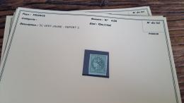 LOT 296060 TIMBRE DE FRANCE OBLITERE N�42B VALEUR 200 EUROS BLOC
