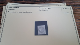 LOT 296061 TIMBRE DE FRANCE NEUF** N�41B VALEUR 400 EUROS BLOC