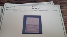 LOT 296066 TIMBRE DE FRANCE NEUF** N�120d  VALEUR 500 EUROS  BLOC