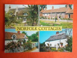 ANGLETERRE, Maisons, Multi-vues (4) - ENGLAND, Norfolk Cottages Multi Views(4) - Non Classés