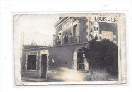 Carte Photo à Localiser : Au Grand ROUSSILON, Café Restaurant, - Cartes Postales
