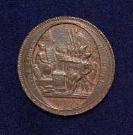 CONSTITUTION - MONNERON DE 5 SOLS Au Serment, Type 3a - 1792 - TTB+ - 1789 – 1795 Monedas Constitucionales