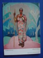 ALLARD L´OLIVIER :  Femme MUTUSI Congo Belge - Otros Ilustradores