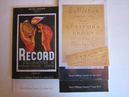 Catalogues De Vente Publique Michel Lhomme - Sprl Adam - Art