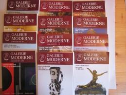 Glerie Moderne - Catalogues De Vetes Publiques - Art