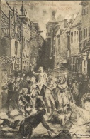Liège  Exposition Universelle 1905 - La Retraite Aux Flambeaux - Avec Cachet De L´expo Au Verso (voir Scann) - Expositions