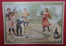 Liqueurs Marie BRIZARD & ROGER - Jeux - La Partie De Croquet - Cacao-Chouao - Cromo