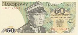 Narodowy  Bank  POLSKI  1988 - Polonia