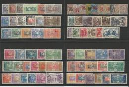 DAHOMEY - COLLECTION * - SERIES PARFOIS INCOMPLETES - QUELQUES BONNES VALEURS - COTE = 330 EUROS - VOIR 2 SCANS - France (former Colonies & Protectorates)