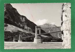 Venzone (Udine) Passerella Sul Fiume Tagliamento  CPSM  Grd Format Année  1956 Udine - Udine