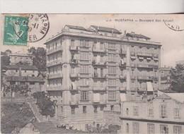 1909 CPA ALGERIE ALGER Le Boulevard Bon Accueil  2 Scan - Algiers