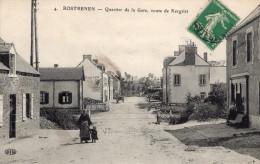 ROSTRENEN - Quartier De La Gare Route De Kergrist  Animé - Other Municipalities