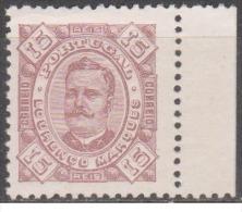 Lourenço Marques-1893-1895,   D. Carlos I.  15 R.  Pap. Porc.  D. 11 1/2   (*) MNG  Afinsa  Nº 4 - Lourenco Marques