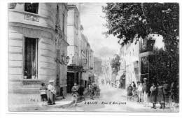 Bouches Du Rhône : Salon  De Provence : Rue D' Avignon - Salon De Provence