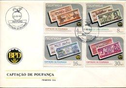 4482 Mocambique  Fdc 1986  Captacao De Poupanca,    Money - Mozambique