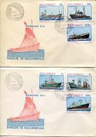 4484 Mocambique  Fdc 1981   Barcos De Mocambique  Ships Bateaux - Mozambique