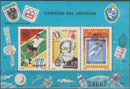 """URUGUAY Block 29(1406-8) """"Jahresereignisse"""" MNH / ** / Postfrisch - Uruguay"""