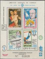 """URUGUAY Block 34(1461-4) """"Jahresereignisse"""" MNH / ** / Postfrisch - Uruguay"""