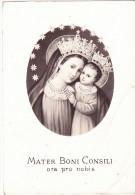 CARTOLINA    MATER BONI CONSILI         NON VIAGGIATA - Vergine Maria E Madonne
