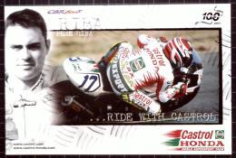 Castrol Postcard, Castrol Honda 100 Years, Pere Riba - Motorbikes