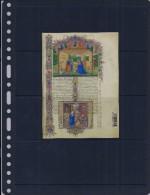 Belgie - Belgique Blok  -  Middeleeuws Erfgoed - Kerstzegels - Blocs 1962-....