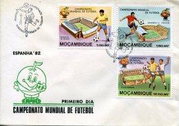 4486 Mocambique,  Campeonato Nundial De Futebol Espana 1982   World Football Camp. - Mozambique