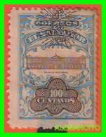 EL SALVADOR  -   SELLOS   AÑO 1909 - El Salvador