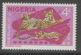 NIGERIA SG177a 1965 4d ANIMAL DEFINITIVE MNH - Nigeria (...-1960)