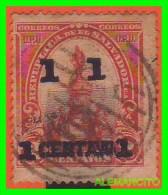 EL SALVADOR  SELLO  AÑO 1903 - El Salvador