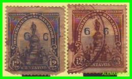 EL SALVADOR  2 SELLOS SERIE   AÑO 1903 - Salvador