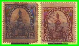 EL SALVADOR  2 SELLOS SERIE   AÑO 1903 - El Salvador